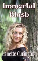 Cover for 'Immortal Blush'