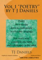 Cover for 'Vol1 Poetry For Everyday People  TJ Daniels'