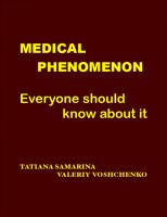 Cover for 'Medical Phenomenon: Everyone Should Know About It'