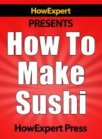 How To Make Sushi cover