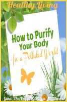 Cover for 'Healthy Living: How to Purify Your Body in a Polluted World'