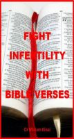 Cover for 'How to Fight Infertility with Bible Verses'