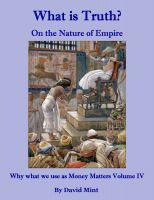 Cover for 'What is Truth?  On the Nature of Empire'