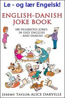 Cover for 'English Danish Joke Book'