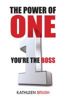 Cover for 'The Power of One: You're the Boss'