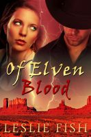 Cover for 'Of Elven Blood'