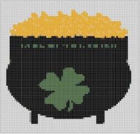 Cover for 'Pot Of Gold Cross Stitch Pattern'