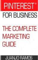 Cover for 'Pinterest for Business. The Complete Marketing Guide'