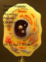 Cover for 'Human Anatomy and Physiology Practice Questions: Cells'