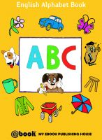 Cover for 'ABC - English Alphabet Book'