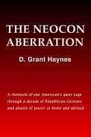 Cover for 'The Neocon Aberration'