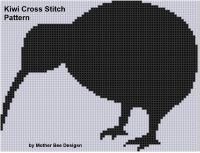 Cover for 'Kiwi Cross Stitch Pattern'