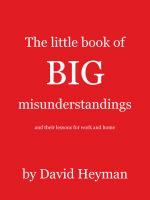 Cover for 'The Little Book of Big Misunderstandings'