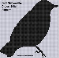 Cover for 'Bird Silhouette Cross Stitch Pattern'