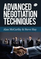 Cover for 'Advanced Negotiation Techniques'