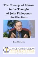 Cover for 'The Concept of Nature in the Thought of John Philoponus And Other Essays'