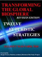 Cover for 'Transforming The Global Biosphere: 12 Futuristic Strategies'
