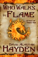 Cover for 'Who Walks in Flame'