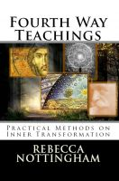 Cover for 'Fourth Way Teachings: Practical Methods on Inner Transformation'