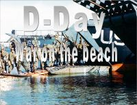Cover for 'D-Day War On the Beach'