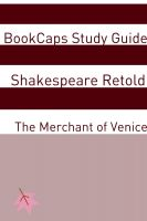 Cover for 'The Merchant of Venice In Plain and Simple English (A Modern Translation and the Original Version)'