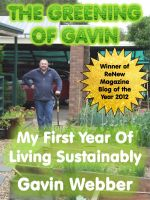 Cover for 'The Greening of Gavin - My First Year of Living Sustainably'