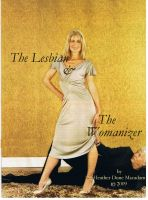Cover for 'THE LESBIAN AND THE WOMANIZER - A Collection of Humorous & Naughty Essays'