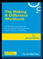 Cover for 'The Making A Difference Workbook'