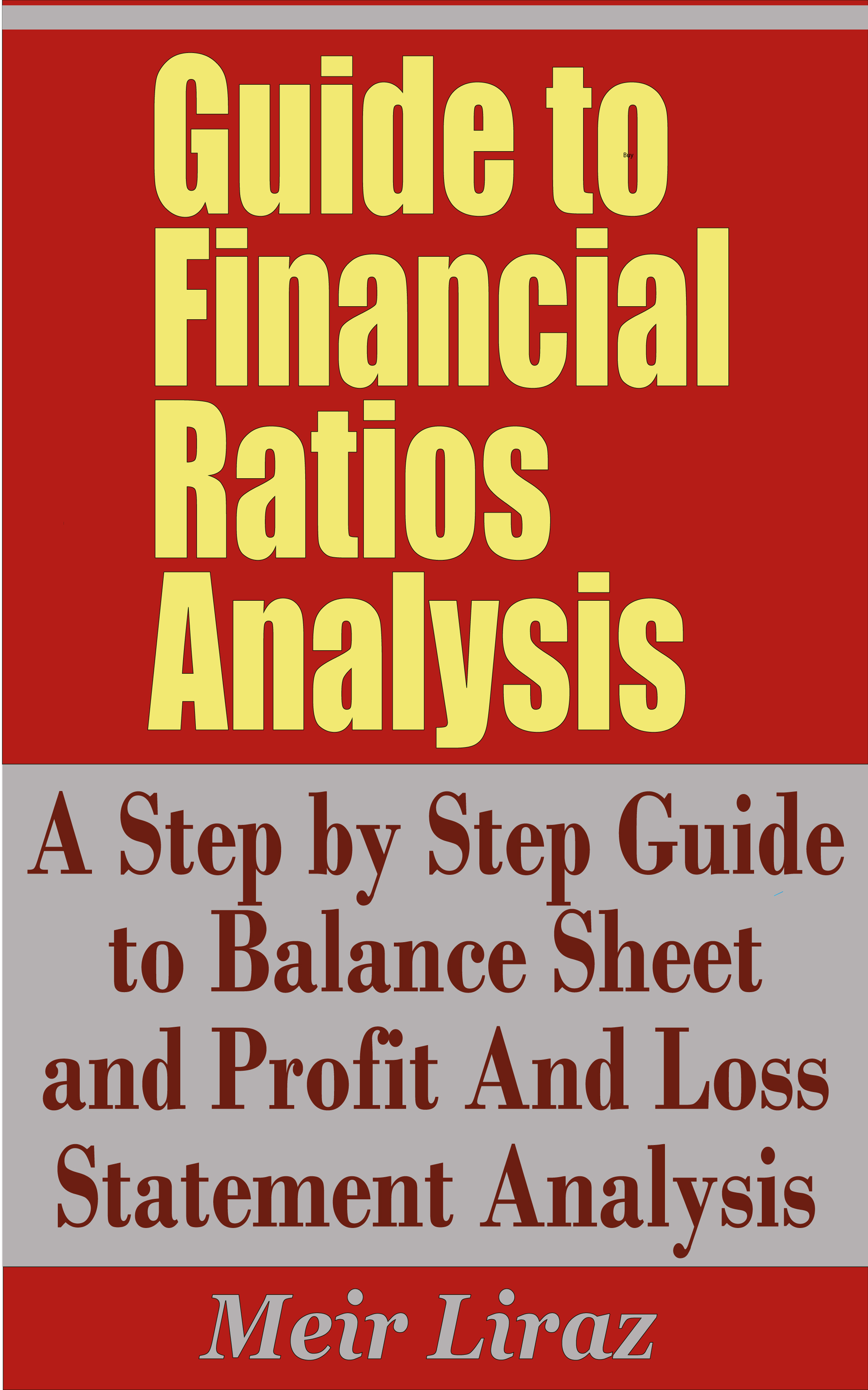 Meir Liraz - Guide to Financial Ratios Analysis - A Step by Step Guide to Balance Sheet and Profit and Loss Statement Analysis