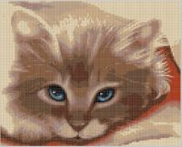 Cover for 'Cat Face Cross Stitch Pattern'