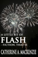 Cover for 'a little bit of FLASH - fiction, that is'