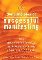 Cover for 'The Principles of Successful Manifesting'