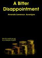 Cover for 'A Bitter Disappointment'