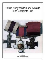 Cover for 'British Army Medals & Awards - The Complete List'