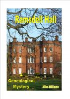 Cover for 'Ramsdell Hall'