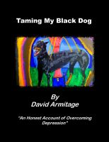Cover for 'Taming My Black Dog'