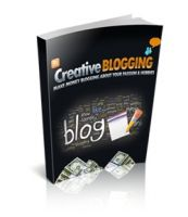 Cover for 'Creative Blogging'