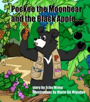 Cover for 'Pockee the Moon Bear and the Black Apple'