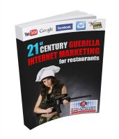 Cover for '21st Century Guerilla Internet Marketing For Restaurants'