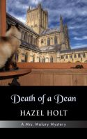 Cover for 'Death of a Dean'