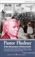 Cover for 'Pastor Fliedner'