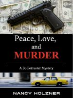 Cover for 'Peace, Love, and Murder'