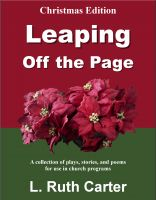 Cover for 'Leaping Off the Page: Christmas Edition'