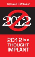 Cover for '2012 is a Thought Implant'