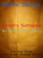 Cover for 'Allison's Surrogate'