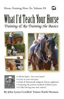 Cover for 'What I'd Teach Your Horse'