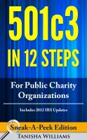 Cover for '501(c)(3) In 12 Steps For Public Charity Organizations'