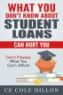 What You Don't Know About Student Loans Can Hurt You by Ce Cole Dillon