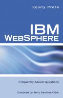 Cover for 'IBM WEBSPHERE Frequently Asked Questions'