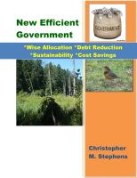 Cover for 'New Efficient Government'